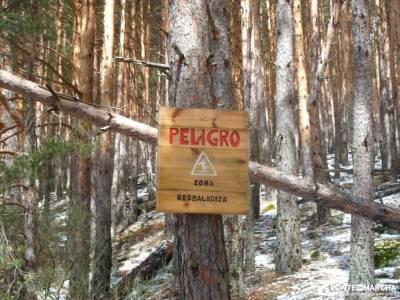 Chorrera o Chorro de San Mamés montañismo madrid grupos de amigos en madrid rutas sierra guadarram